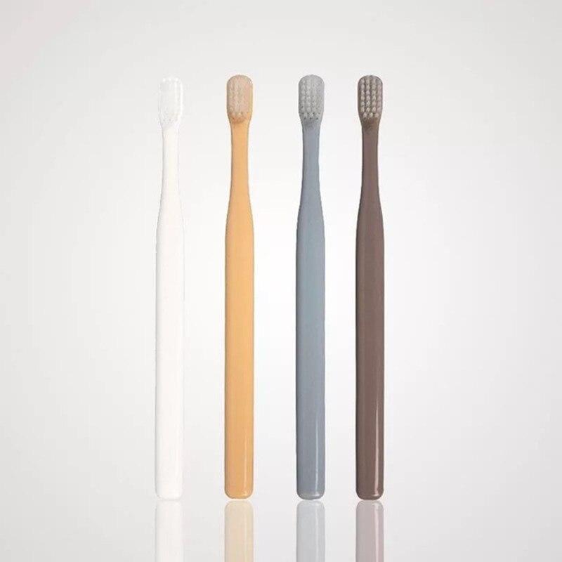 4 шт. модные японские супер тонкие мягкие зубные щетки Семейные комплекты