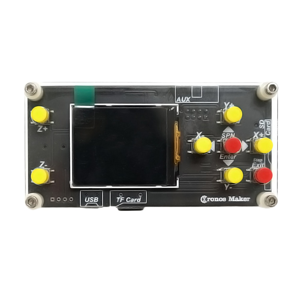 Máquina de grabado USB fresadora GRBL controlador fuera de línea tallado 1,8 pulgadas taller pantalla 3 ejes pantalla LCD para CNC 3018PRO 1610