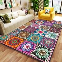 Hot Sale Modern Persian 3d Printed Wood Floor Rug Child Room Decor Large carpets for Living Room Bedroom Area Rugs Hallway Mats