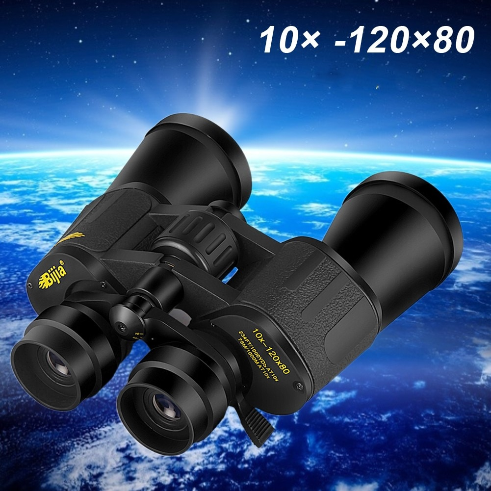 Telescopio telescópico para exteriores, binoculares de alta definición con visión Zoom 10...
