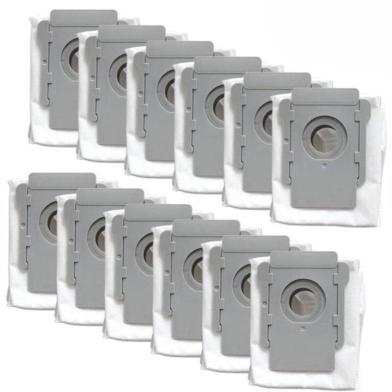12 Pack Vakuum Taschen für IRobot Roomba I & S Serie I7(7150) i7 + I7Plus(7550) S9(9150) S9 + S9 Plus (9550, 955020)