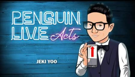 Jeki yoo pinguim live act-truques de magia