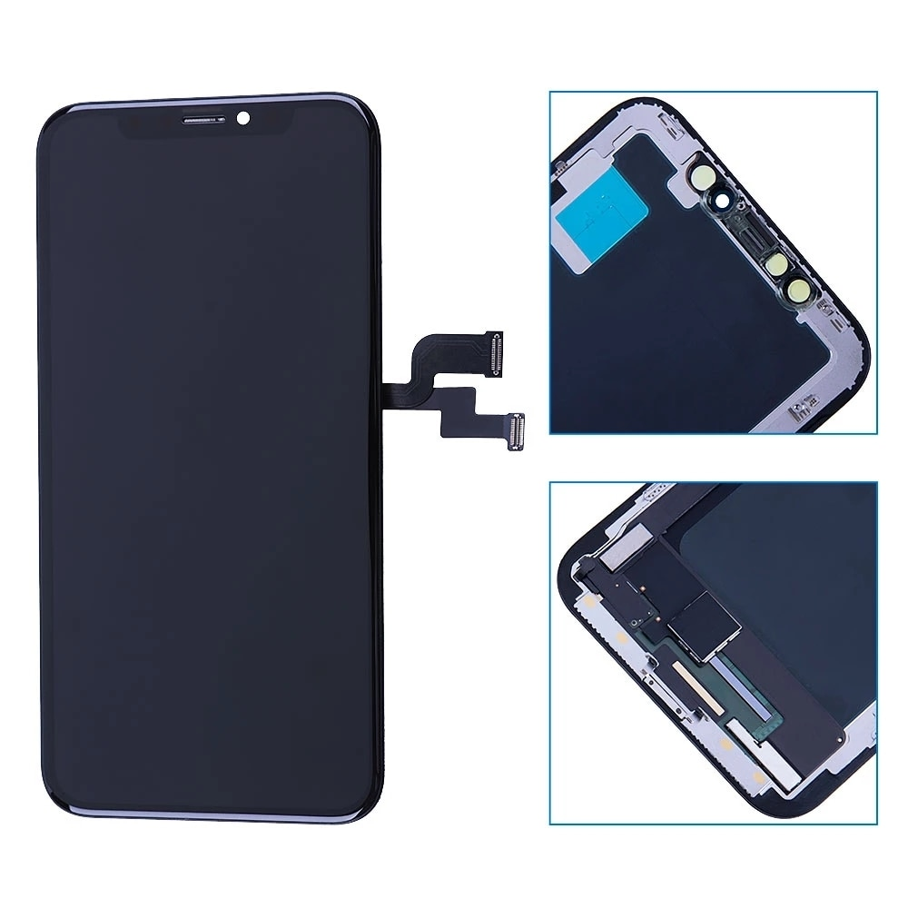 100% New Lcd For iPhone XSMAX LED Display Screen Touch With Metal Factory Display For iPhone  Lcd touch Screen enlarge