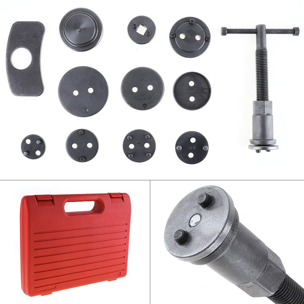 12 шт./компл. Универсальный Автомобильный дисковый тормозной суппорт, комплект инструментов для ремонта поршневого компрессора, для большин...