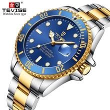 Tevise 2020 Mechanical Watches Automatic Watch Men Luxury Brand Waterproof Stainless Steel Wristwatc