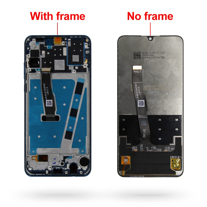 2312*1080 Original LCD With Frame For HUAWEI P30 Lite LCD Display Screen For HUAWEI P30 Lite Screen Nova 4e MAR-LX1 LX2 AL01 enlarge