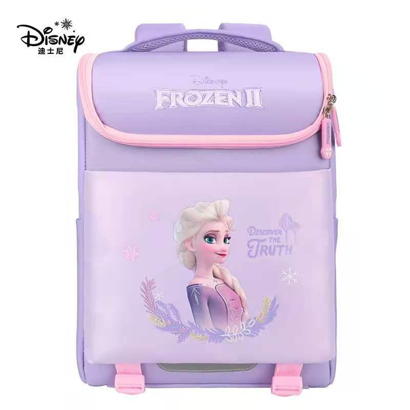 Disney Frozen School Bag for Girls Primary Student Backpack Elsa Anna Shoulder Backpack Orthopedic Bags Girls Gifts Mochilars