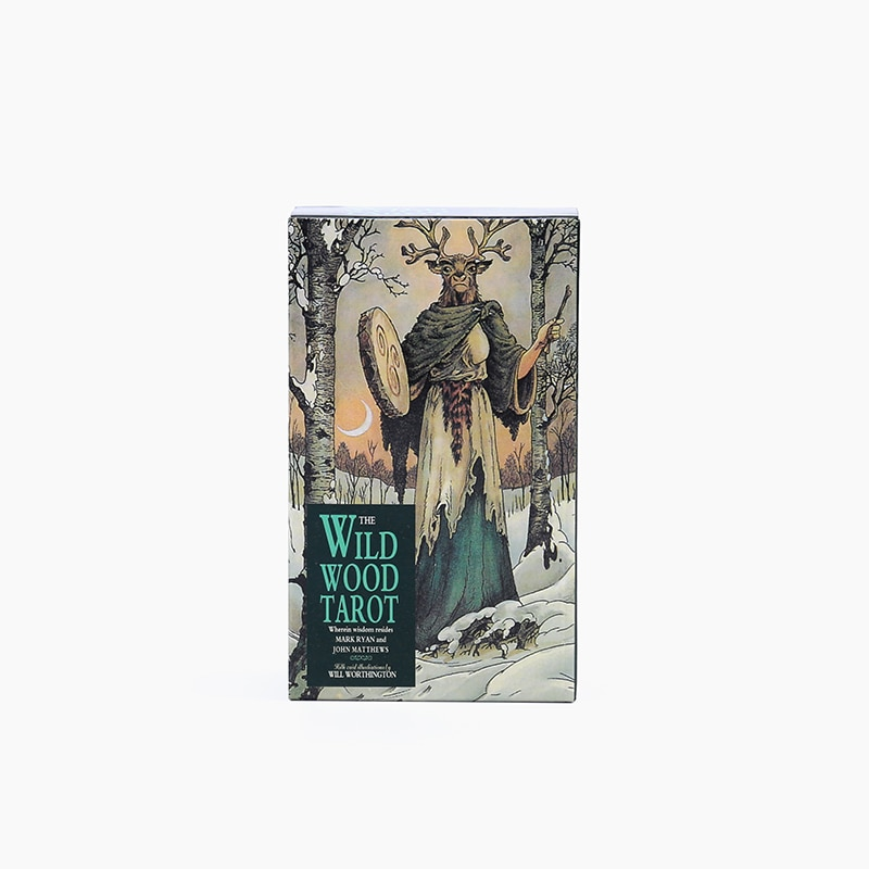 The Wild Wood Tarot, Witch Tarot, Guidebook 78 Cards Deck, Card Game Board Game Divination Tell the Future TOY недорого