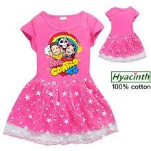 me contro te vestito dresses kids clothes unicorno baby girls princess dress clothing toddler Girl dress bambini vestiti bimba