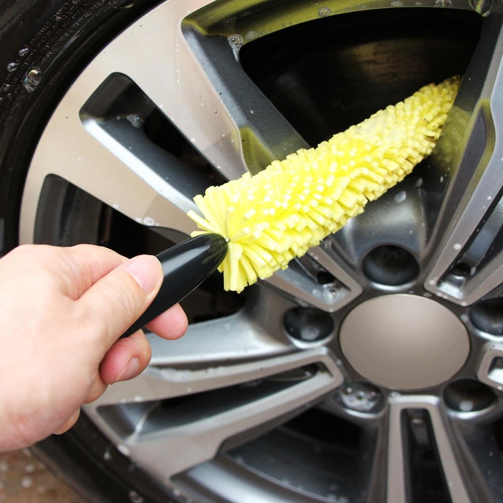Щетка для чистки колеса автомобиля щетка для чистки Авто скраб губки-щетки Инструменты для KIA Sportage KX5 Ceed Forte Rio Sedona grand carnival K2