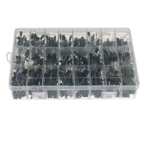 660pcs24 kinds of 100v boxed 0.22nF-470nF polyester polyester film capacitor set