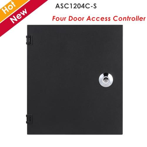Controlador de acceso de cuatro puertas Dahua Wiegand o interfaz de RS-485 para lectores compatible con tarjeta, contraseña, huella digital ASC1204C-S