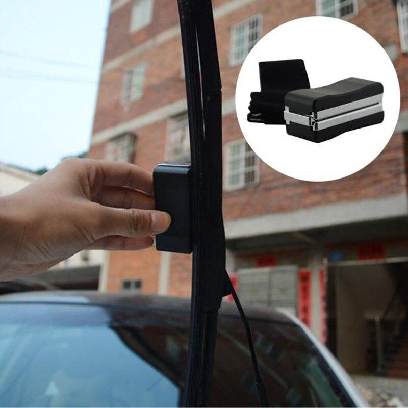 HOYOO Universal Auto del vehículo del coche escobilla limpiaparabrisas reparación, restauración herramienta restaurador Kit de reparación de rasguños en el parabrisas limpiador