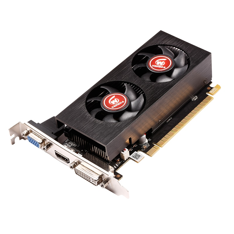 Video Card  GPU GTX750 4GB GDDR5 Graphic card Instantkill GTX650Ti ,HD6850 ,R7 350 For nVIDIA Geforce Games enlarge