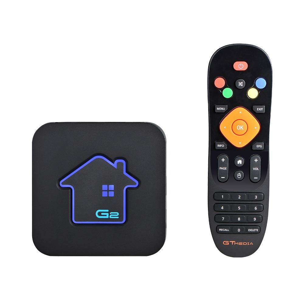 GTmedia Android 7.1 IPTV M3U Smart TV BOX Amlogic S905W 2GBRAM +16GBROM Set Top Box 4K HD H.265 2.4G Wifi media player TV BOX