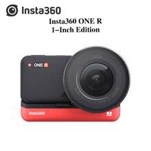 Bonne Insta360 ONE R 1 pouce Edition 5.3K 30fps caméra daction avec capteur 1 pouce, 4K 60fps, stabilisation, IPX8 étanche, 19MP