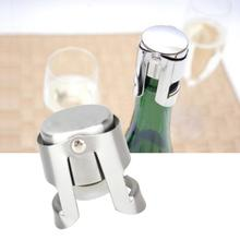Bouchon pour bouteille 304 en acier inoxydable Champagne Portable liège tenant la Machine barre liège de vin mousseux bouchon de vin barre outils chauds