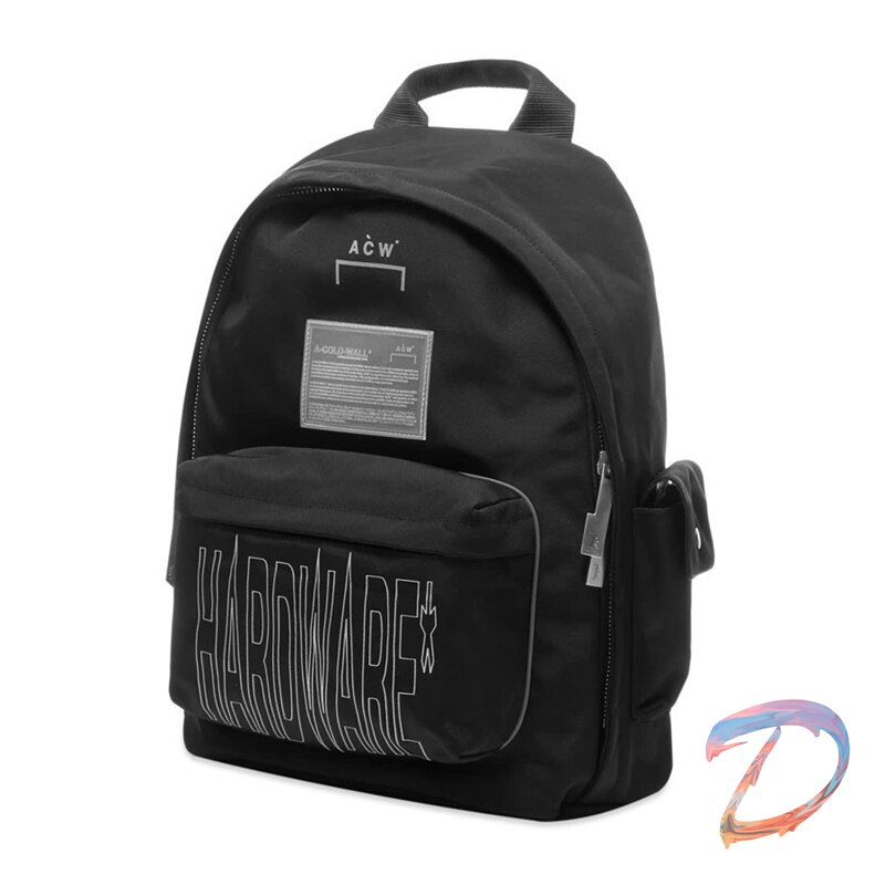 Mens Womens Backpack A-COLD-WALL Cold Wall Reflective Bag High Quality Nylon Casual ACW Capacity Unisex