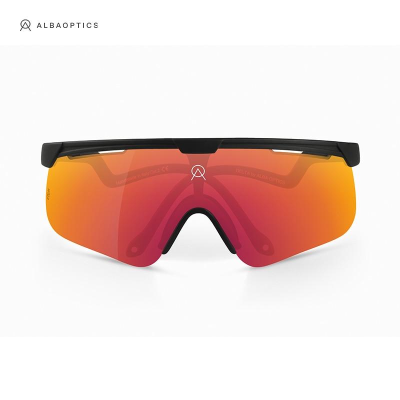 ALBA Polarized Cycling Eyewear Men women Sports Goggles Road Mtb Mountain Bike bicycle Glasses Sungl