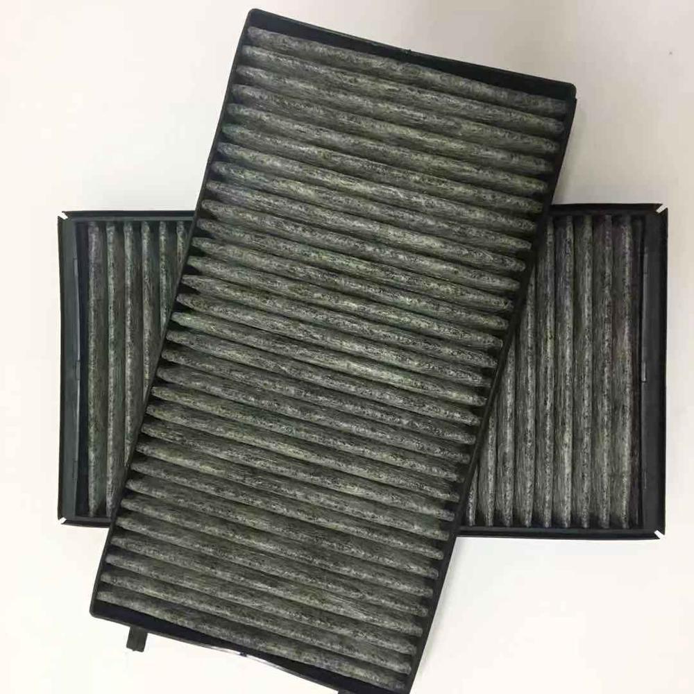 Cabina filtro de aire para bmw E65 E66 E67 735i 745i 735Li 745Li E67 745LiS 730i 740d 730Li 740i 64119272643 2 piezas 64116921019