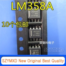 10Pcs/Lot New Original LM358A LM358AD LM358ADR SOP8 imported quality is excellent In Stock