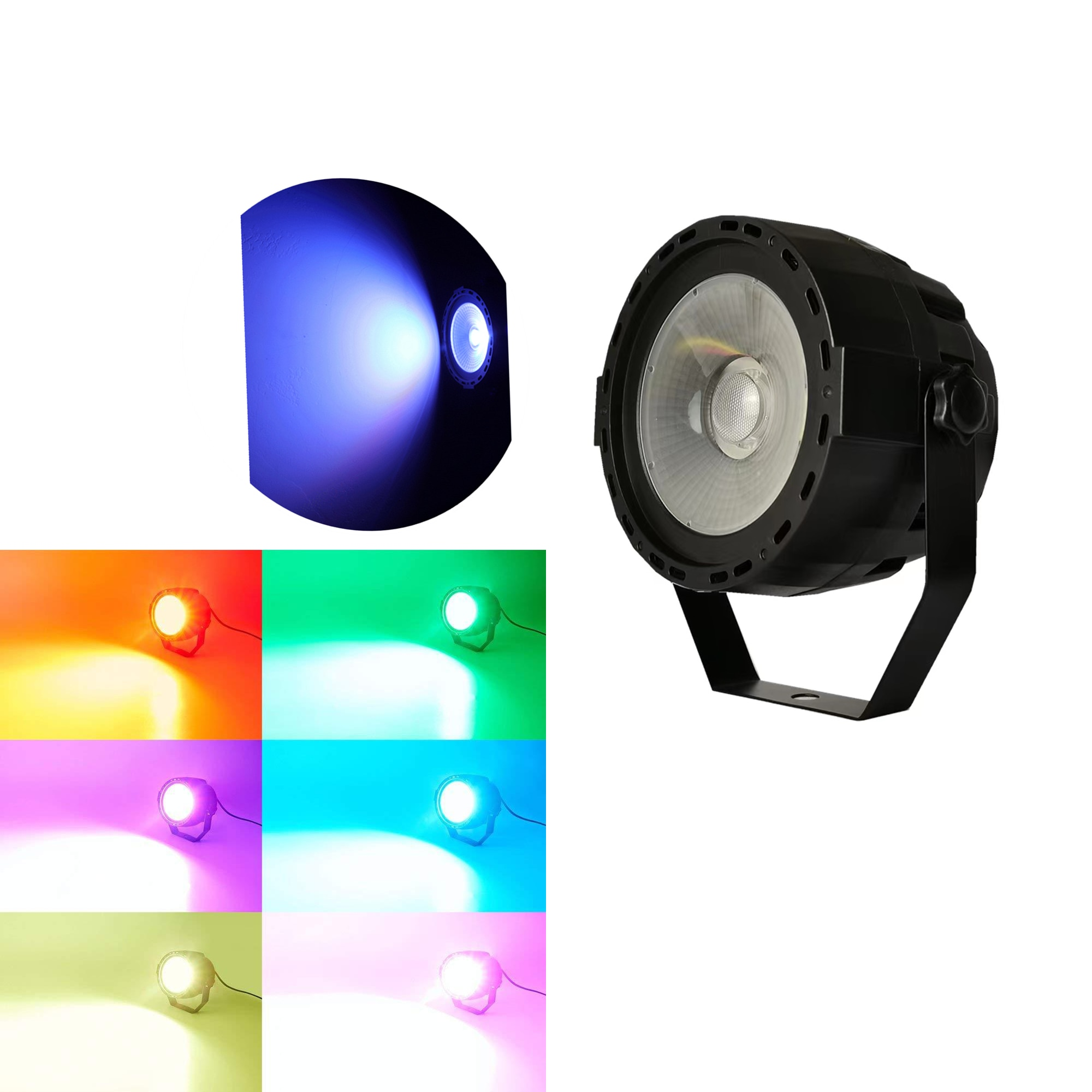 cob superficie luz de palco luz 30w luz de superficie dj adequado para discoteca