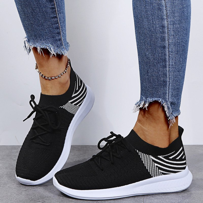 2021 Spring/Summer Women Shoes Sneakers Lace Up Light Vulcanized Shoes Female Mesh Sneakers Women Casual Shoes Plus Size