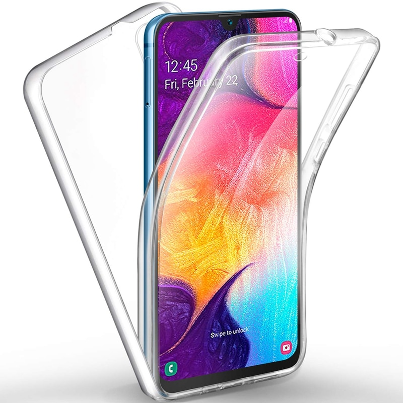 Двойной прозрачный чехол для Huawei P20 P9 P8 Lite 2017 Y5 Y6 Y7 Prime 2018 Nova 2i 3e P Smart Mate10 Lite Honor 7A 7C Pro 8 Lite, чехол