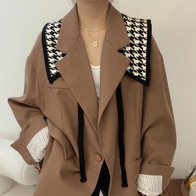 2020 Winter Square Design Knitted Scarf Women Men Knit Skinny Neck Warmer Collar Scarfs fake collar Accessories