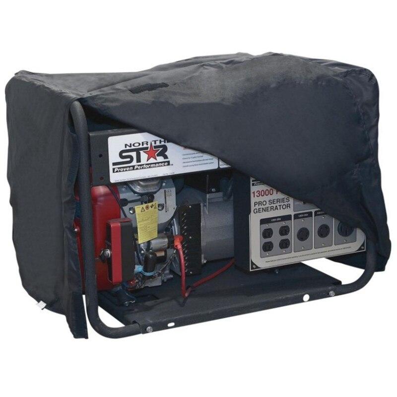 Cubierta de protección solar para generador al aire libre 210D Oxford paño cubierta para el polvo y la lluvia es adecuado para todo tipo de motores de máquina