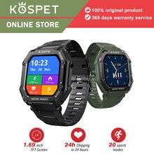 KOSPET ROCK Men's watches 3ATM  Waterproof Sports Smart watch man Bluetooth Fitness bracelet 1.69-in