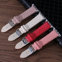 hot selling watchbands for apple watch 5432 38mm 40mm braided strap for iwatch 42mm 44mm watches accessories leather strap