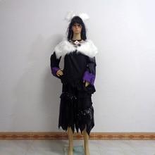 Final Fantasy XIV FF 14 Y'shtola/Ya Shutora Cos Christmas Party Halloween Cosplay Costume Customize Any Size