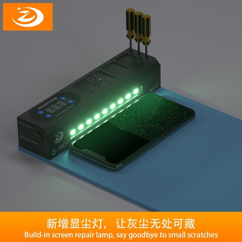 ZJ LCD شاشة زرقاء الخائن التدفئة المرحلة فاصل الوسادة آيفون باد شاشة LCD فاصل أداة