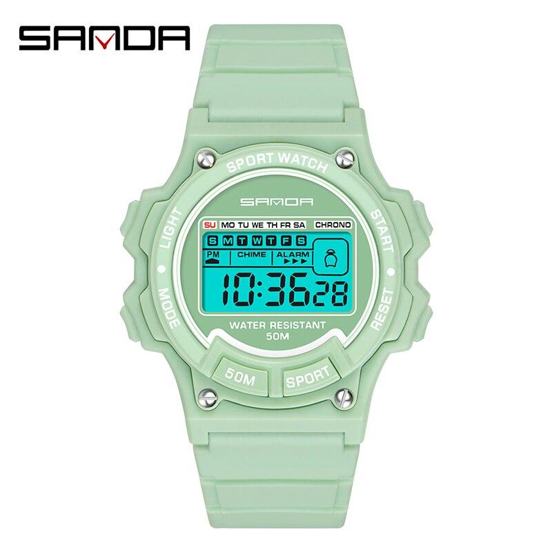 Часы марки SANDA orologio uomo часы женские наручные reloj hombre montre femme часы reloj relogio masculino часы reloj mujer