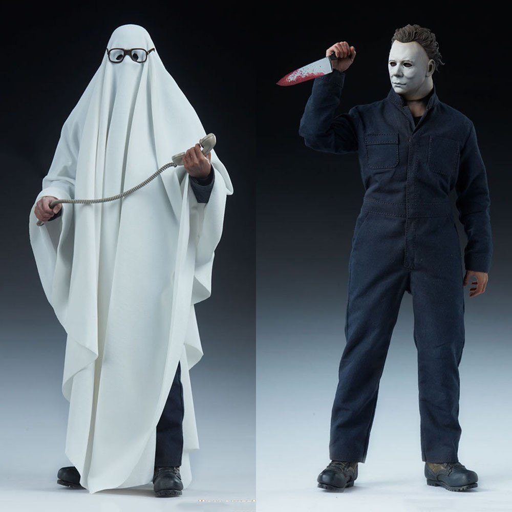 """For Collection 1/6 Scale Sideshow 100398 Halloween Male Solider The Michael Myers 12"""" Full Set Deluxe Version Model F Fans Gift"""