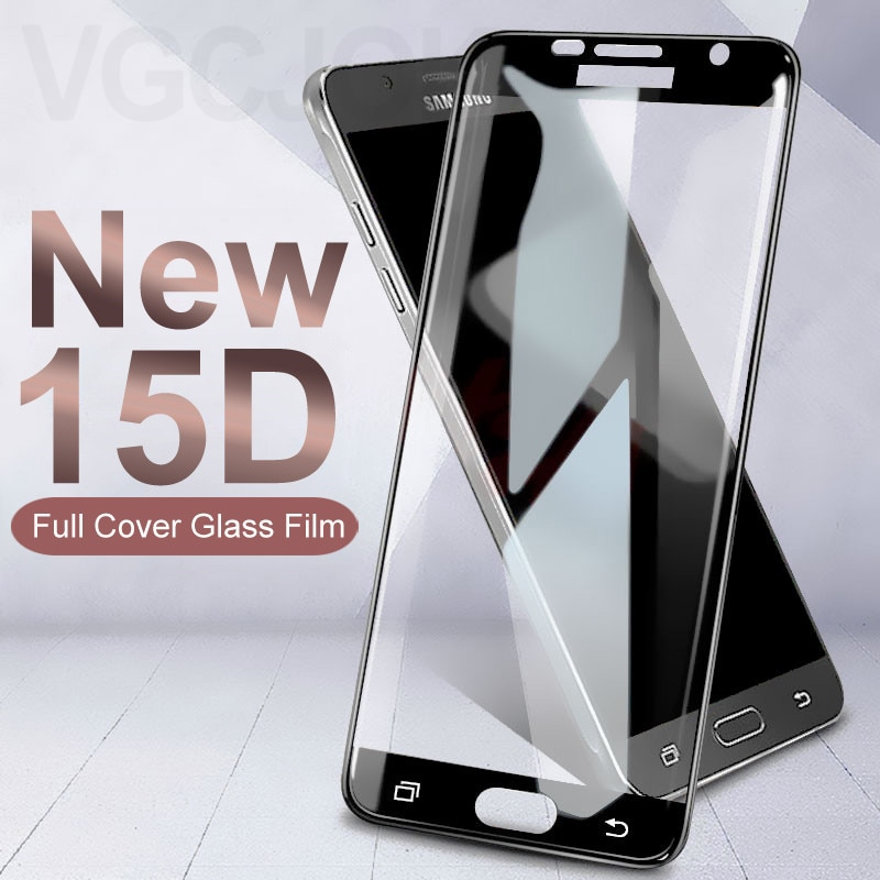 15D Protective Glass on the For Samsung Galaxy S7 A3 A5 A7 2017 J3 J5 J7 2016 2017 Version Tempered
