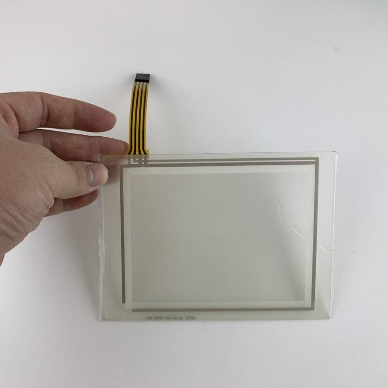 شاشة تعمل باللمس الزجاج ل 80F3-A110-56050 0603040659 TR4-056F-03DG