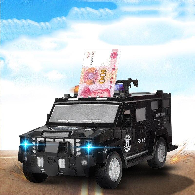 Nuevas cajas de dinero Caja de Ahorro automática Huella Digital ATM con contraseña juguetes creativos para niños decoración del hogar tarro artesanal
