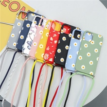 Necklace Lanyard Rope Case For Xiaomi Mi Redmi Note 9 10 10T 9T 8T 8 9A 7A 7 9S Pro Lite A2 6X 5X Po