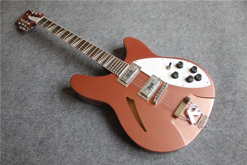 Tienda personalizada 12 cuerdas de Guitarra eléctrica China OEM Rick guitarras eléctricas...