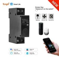 Tuya Smart life Wifi Breaker Switch Smat Wireless Remote Controller DIY Wifi Light Switch Smart Home Works with Alexa google
