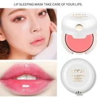 lip care sleeping lip mask rose essential oil rapair and lines remove mask moisturizing lip dead plumper lip skin j9x6