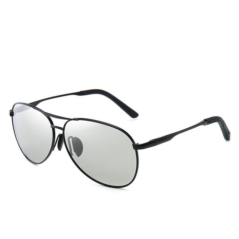 Classic Pilot Polarized Sunglasses Men Women Fashion Aviation Sun Glasses Photochromic Driving Sungl