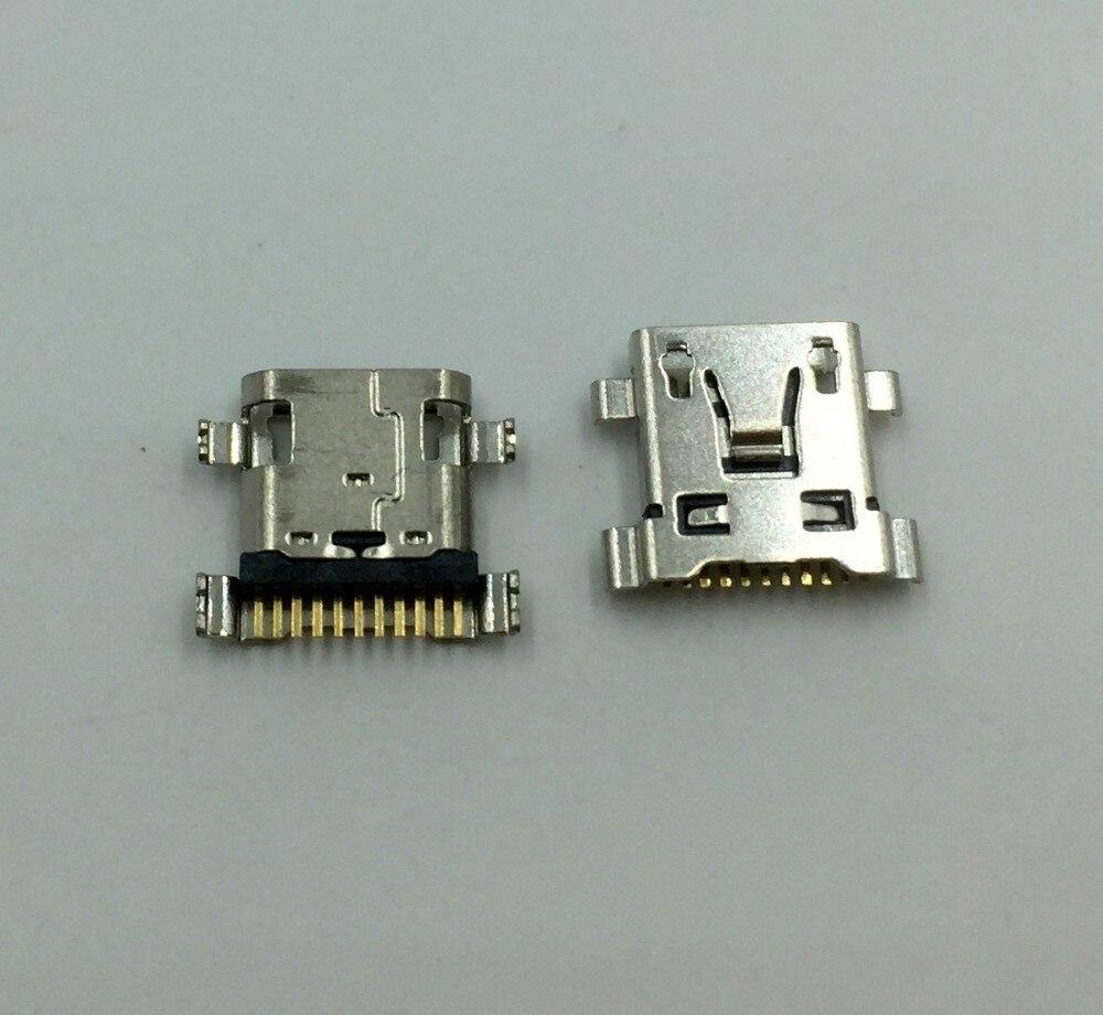 10 pçs/lote Novo Para LG G3 LS885 SU640 LU6200 E980 P999 P990 P920 Micro USB Tomada De Carregamento Porta de Soquete Do Conector