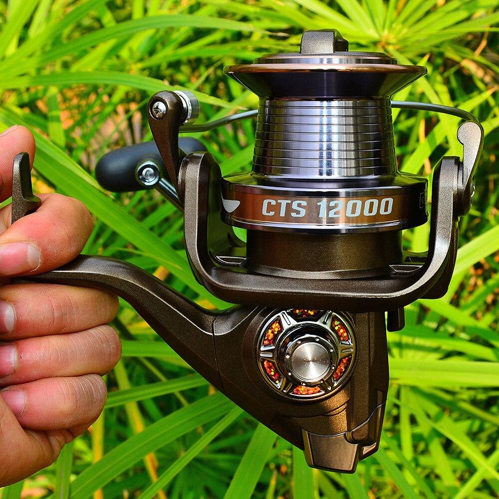 14+1BB Series Fishing Reel 4.0:1 Anti-corrosion Spinning Reel Max Power Carp Fishing Saltwater Fish Reel Sea Trolling Reel enlarge
