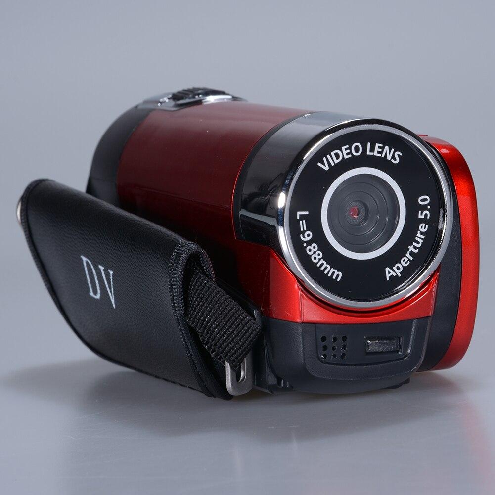 كاميرا فيديو كاميرا 16MP عالية الوضوح الرقمية 1080P 2.7 بوصة TFT LCD شاشة 16X التكبير المحمولة