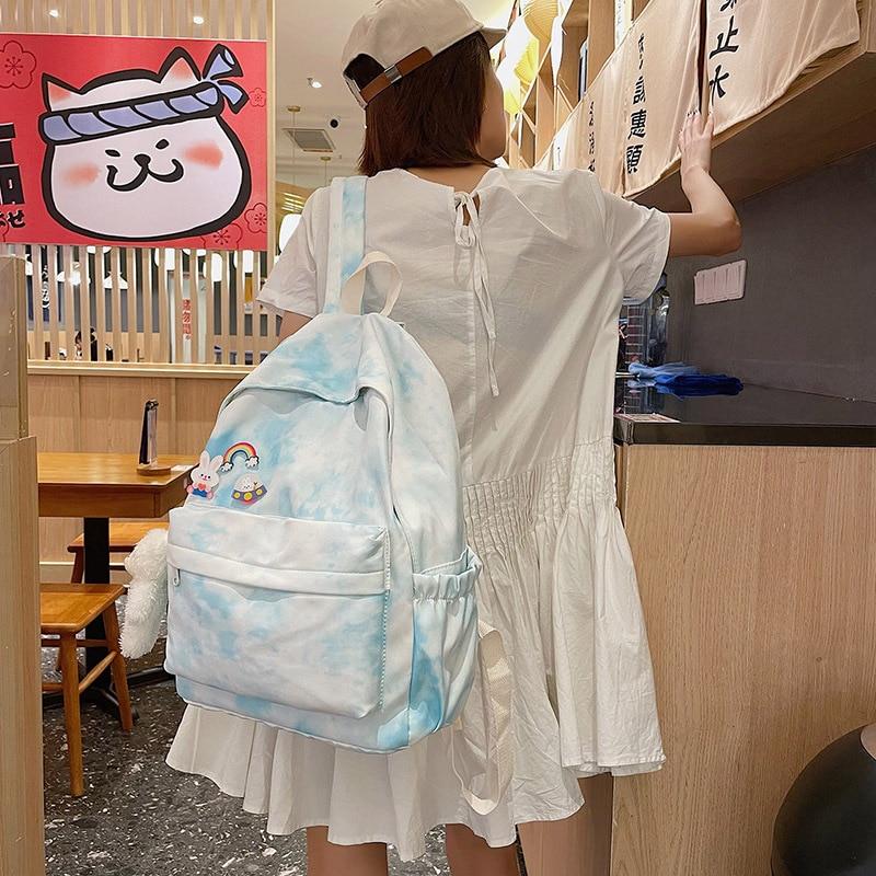 Модный рюкзак, школьная сумка, брендовый дорожный рюкзак для девочек-подростков, стильная сумка для ноутбука, рюкзак