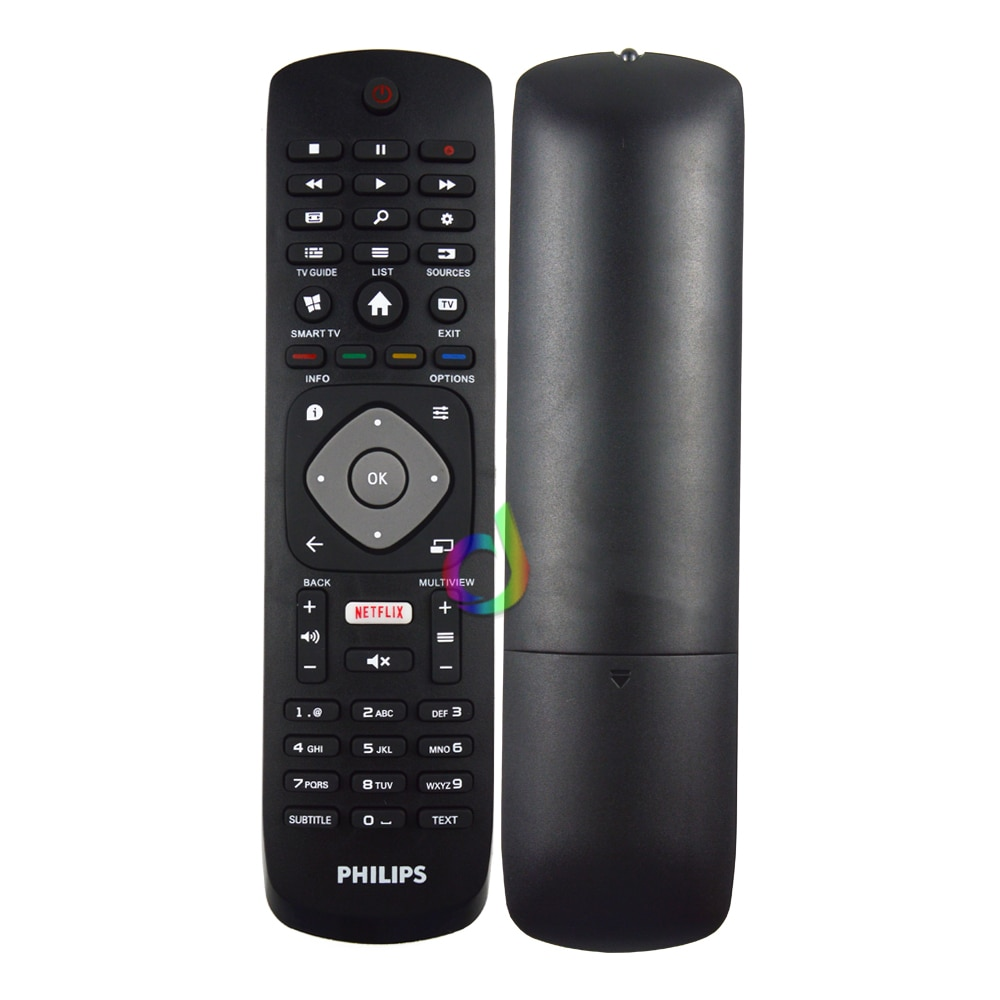 Television Remote Control Household Bedroom Replacement Accessories for PHILIPS TV with NETFLIX HOF1