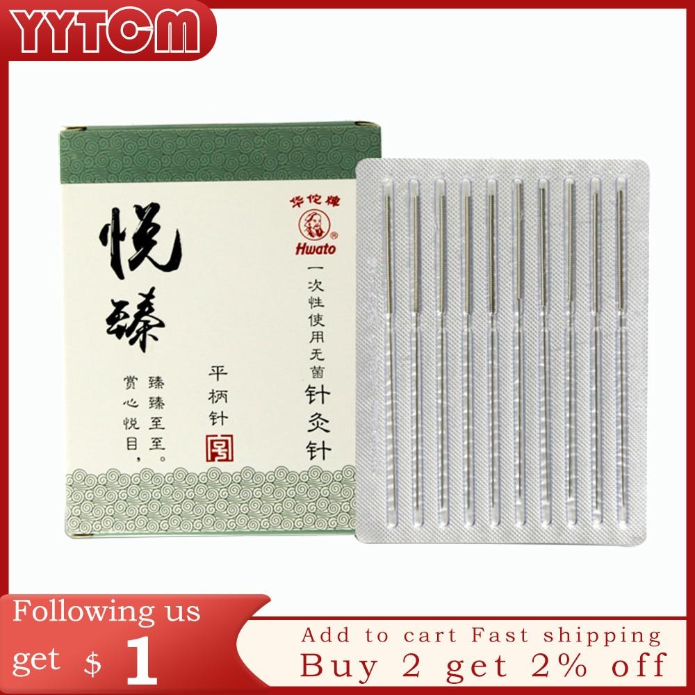 100pcs/box Acupuncture Needle Disposable Needle Acupuncture Beauty Massage Needle health care healthcare moxibustion